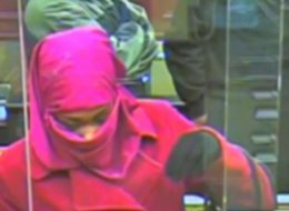 Pink Bank Robber On The Loose In Maryland
