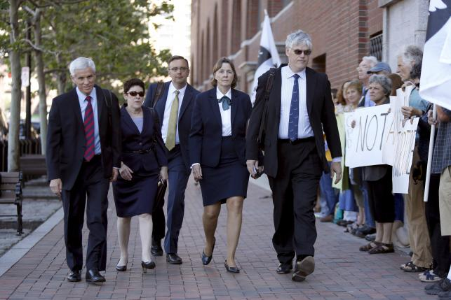 Victims' families confront Boston bomber at sentencing