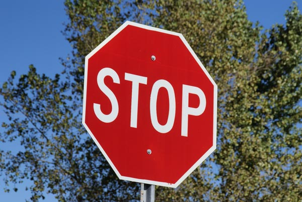 Dad illegally installs own stop signs in neighborhood