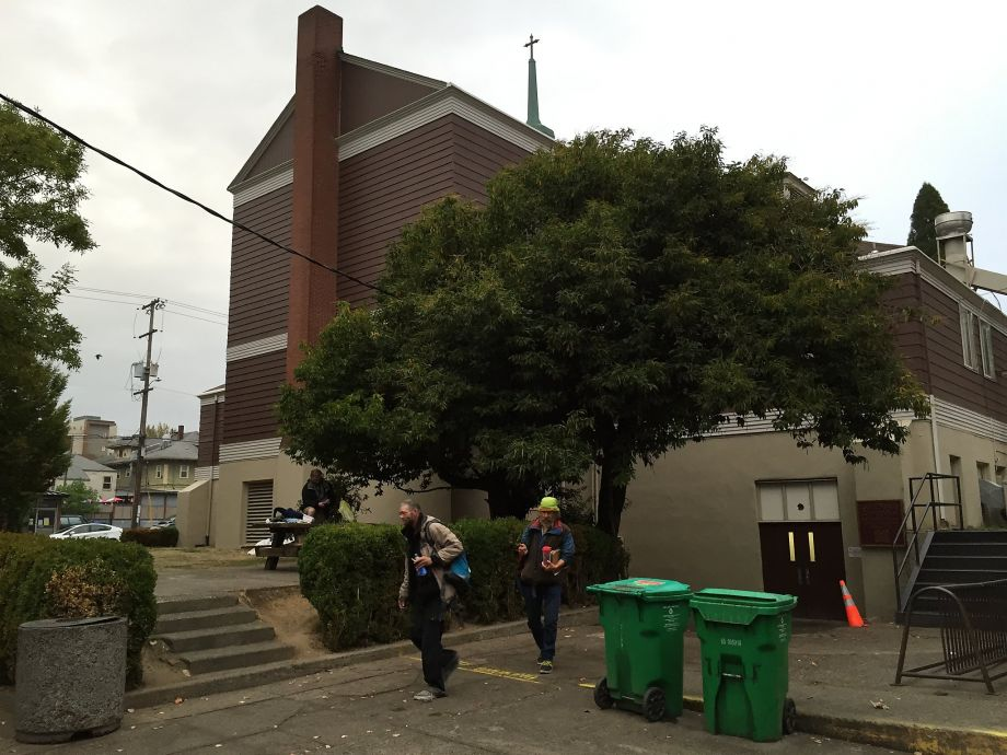 At Portland soup kitchen, shock over the murder arrests of 3 drifters