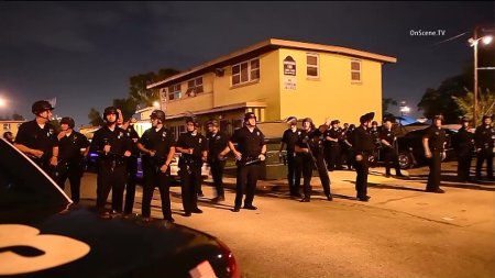 Officer Shot, Wounded During Gun Battle That Left 1 Dead in Watts