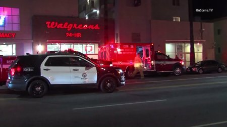 1 Hospitalized Following Dispute, Officer Shooting at East Hollywood Walgreens