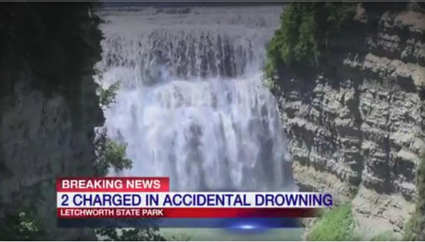 Waterfall deaths of 2 NY boys lead to charges