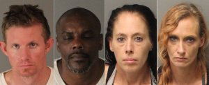 4 Arrested in Riverside on Suspicion of Stealing Mail, Identity Theft in Victoria Neighborhood