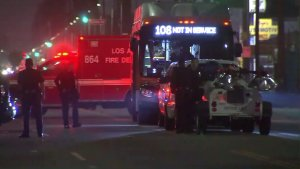 Man Hospitalized Following Shootout With Police in South L.A.
