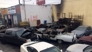 Threatening Words Found at South L.A. Auto Shop Where Several Cars Caught Fire