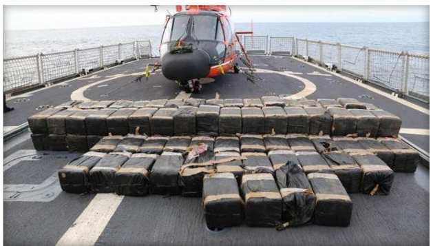 Officials seize about $300M worth of heroin, cocaine from Mexico, Central America