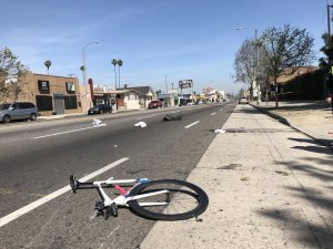 Bicyclist Fatally Struck by Porsche SUV in South L.A. Hit-and-Run Crash Identified
