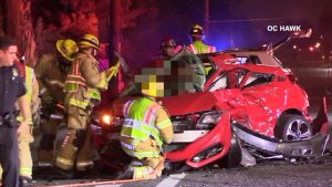 Woman Suspected of DUI in Early Morning Crash That Killed 24-Year-Old Man in Costa Mesa