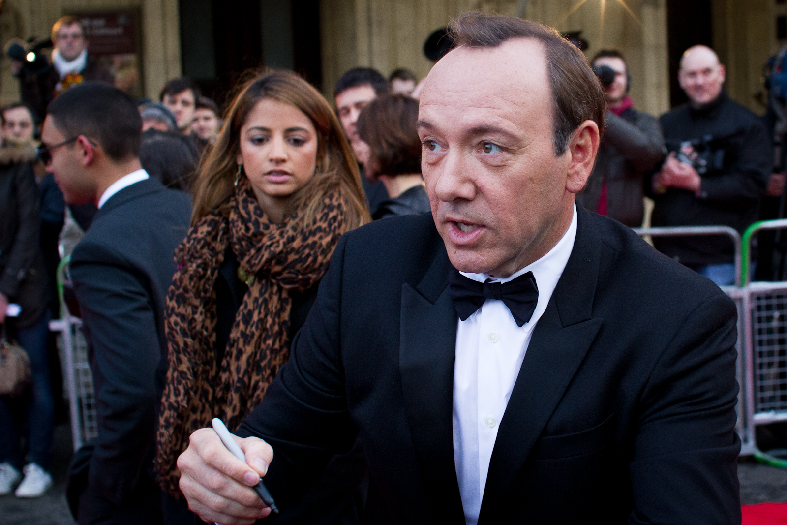 Kevin Spacey charged with sexually assaulting son of former WCVB anchor