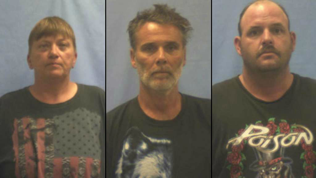 3 carnival workers charged in killings of Kansas couple