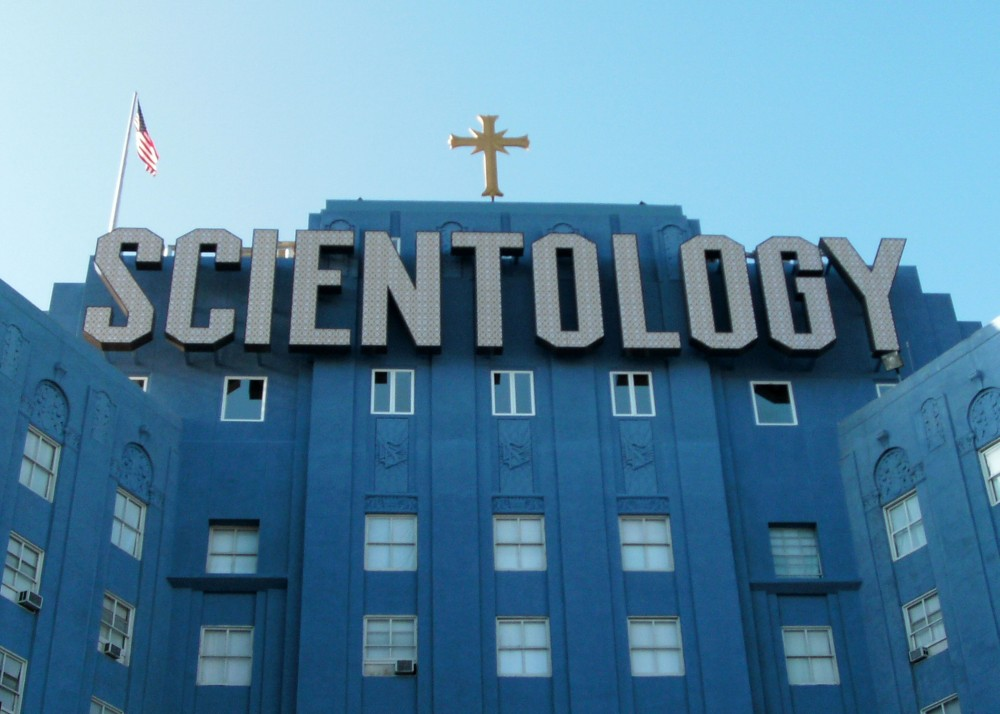 Man armed with sword fatally shot at Scientology church near Los Angeles