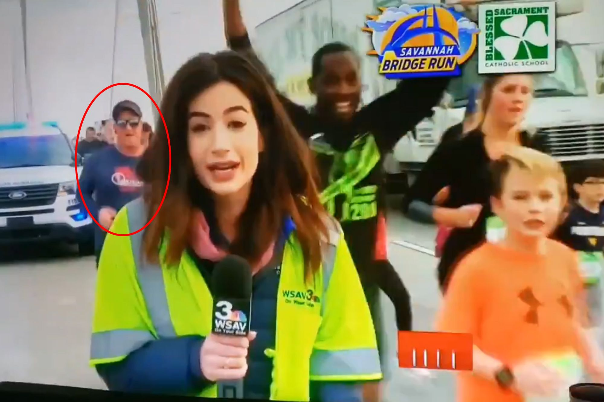 Female TV reporter seeks criminal charges against man who slapped her backside on camera