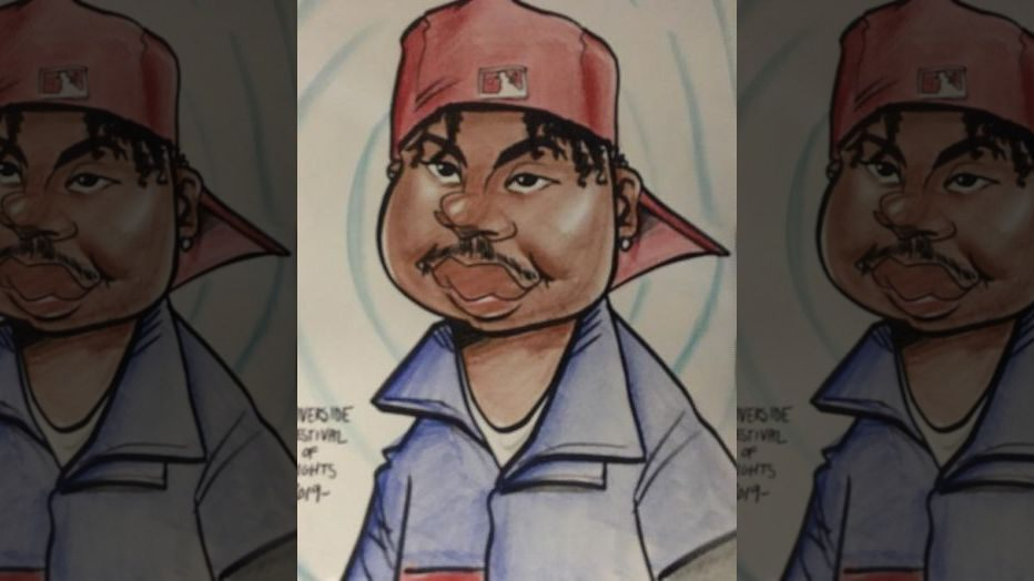 Man steals money from caricature artist but leaves behind portrait