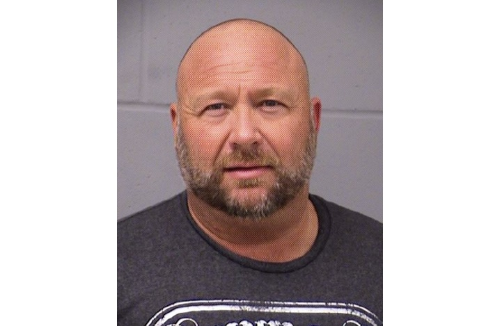 Conspiracy theorist Alex Jones arrested for DWI in Travis County