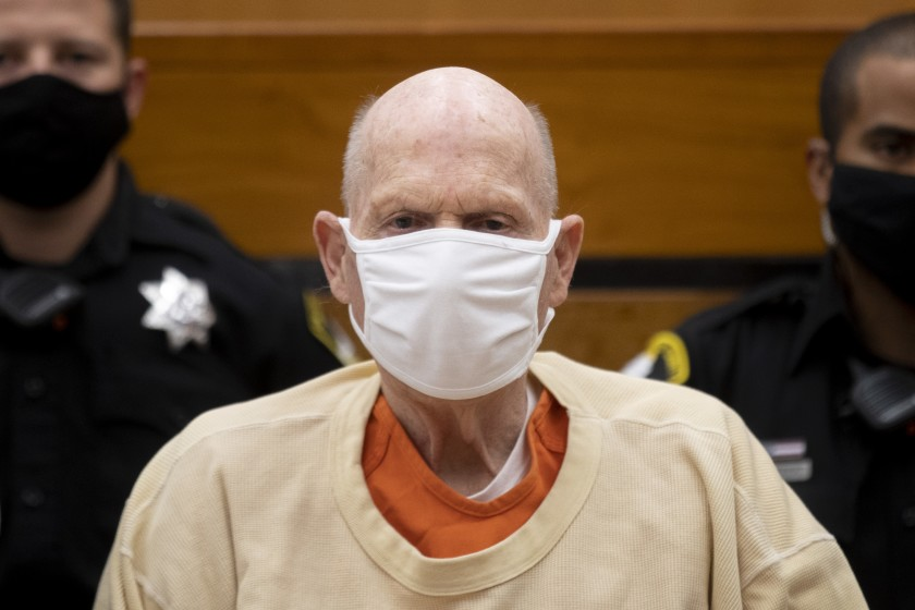 Golden State Killer sentenced to life for 26 rapes, slayings